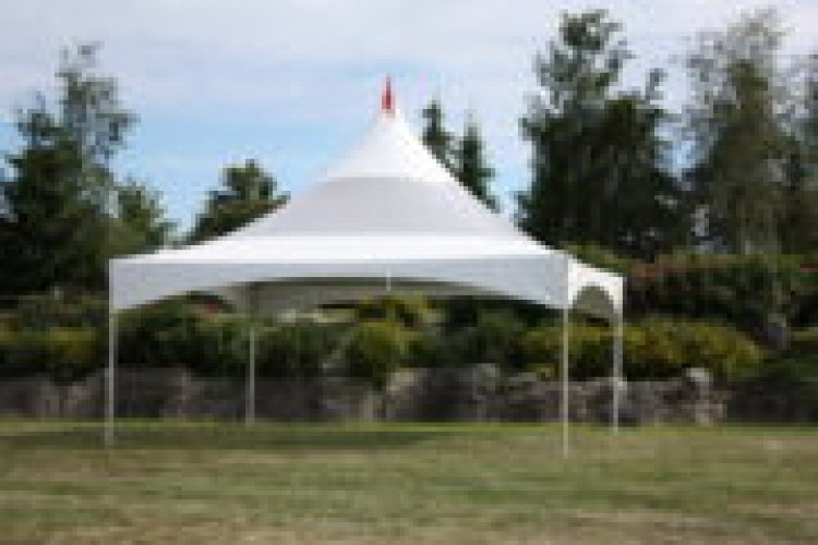 20 x 20 Grey High Peak Tent- Please call for pricing