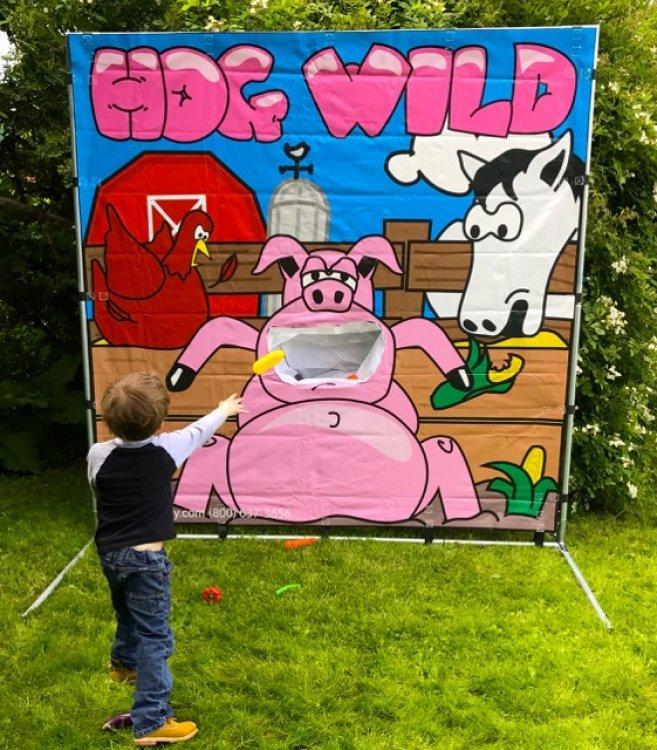 Hog Wild Frame Game