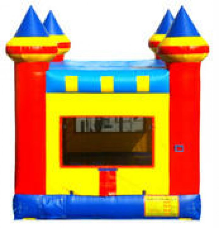 KIDZILLA Small Bounce House with Basketball Hoop
