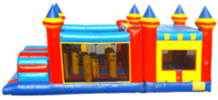 KIDZILLA Obstacle Course/Bounce House Combo