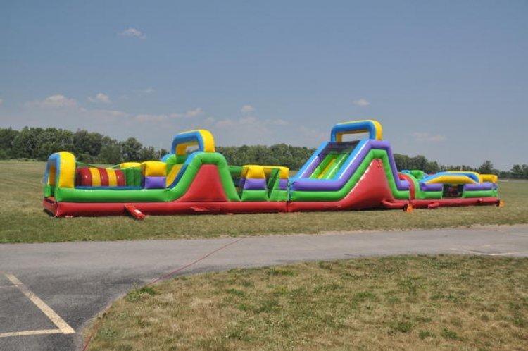 90' Mega Obstacle Course