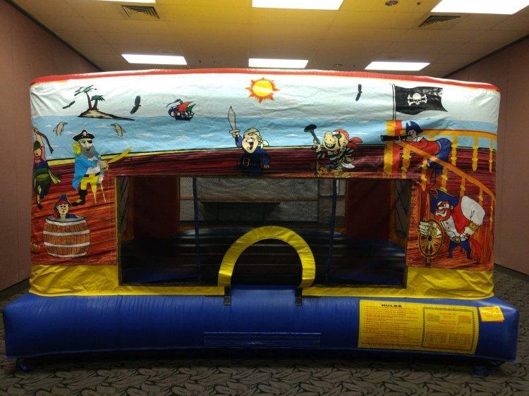 Pirate Theme Mini Bouncer  Banner
