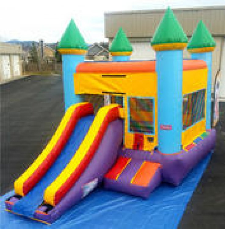 Skittles Combo- Wet or Dry w basketball  hoop  (Pool)