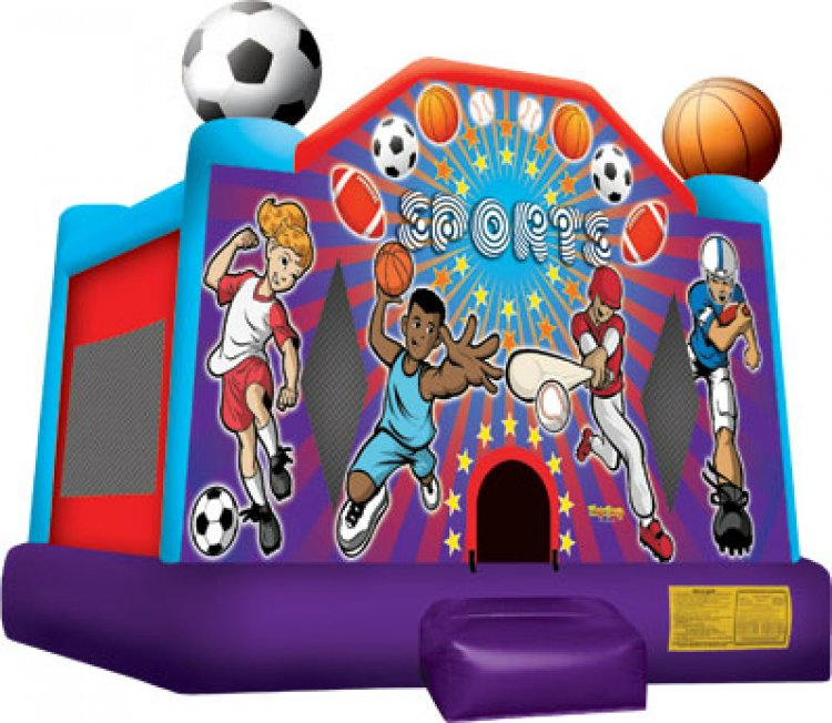 Sports Bouncer- A (No Basketball Hoop)
