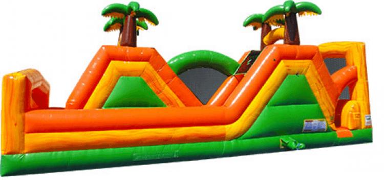 Jungle Run 180 Degree Water Slide