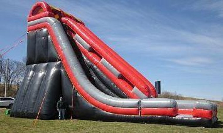 34' Tall Edge Dry Slide