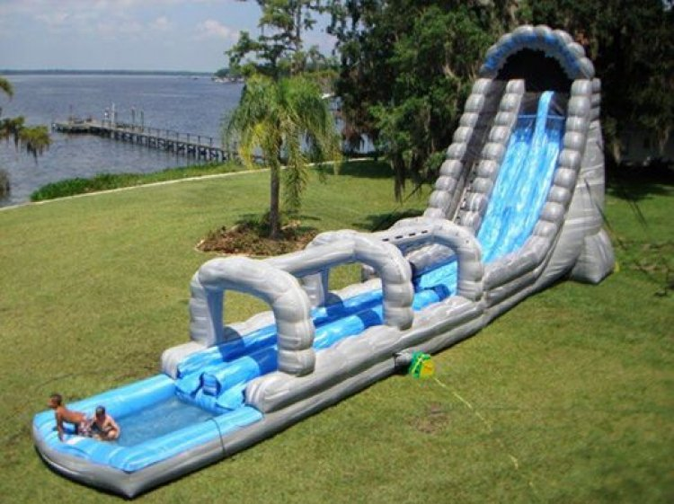 22ft. Roaring River Slide with Slip N Slide