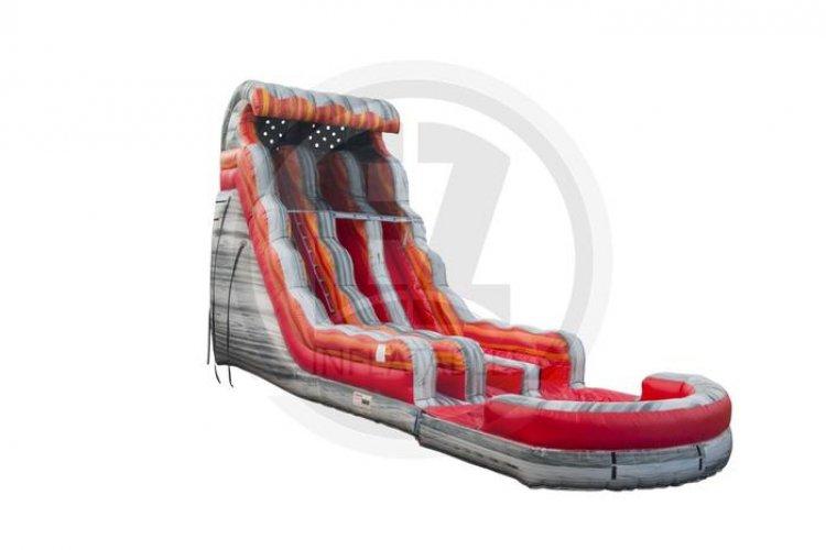 22 Foot Dual Lane Slide
