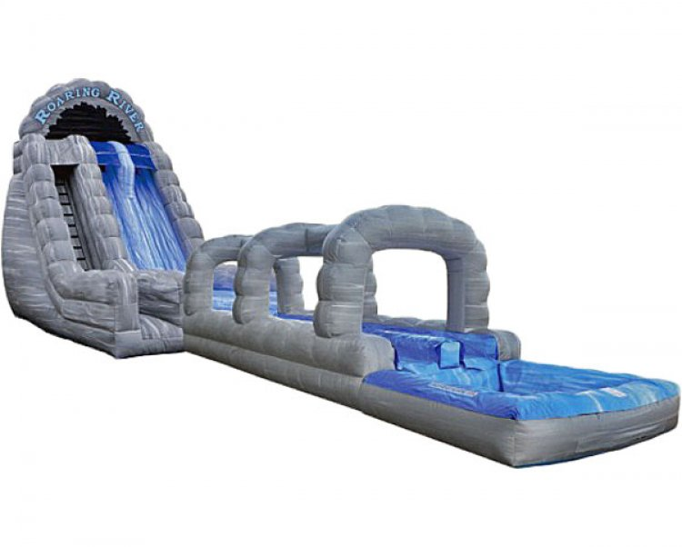 Add Obstacle Course for $99 to any water slide.