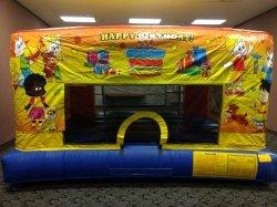 Happy Birthday Mini Bouncer Panel