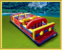7 Elements Obstacle Course (Black) (Red)