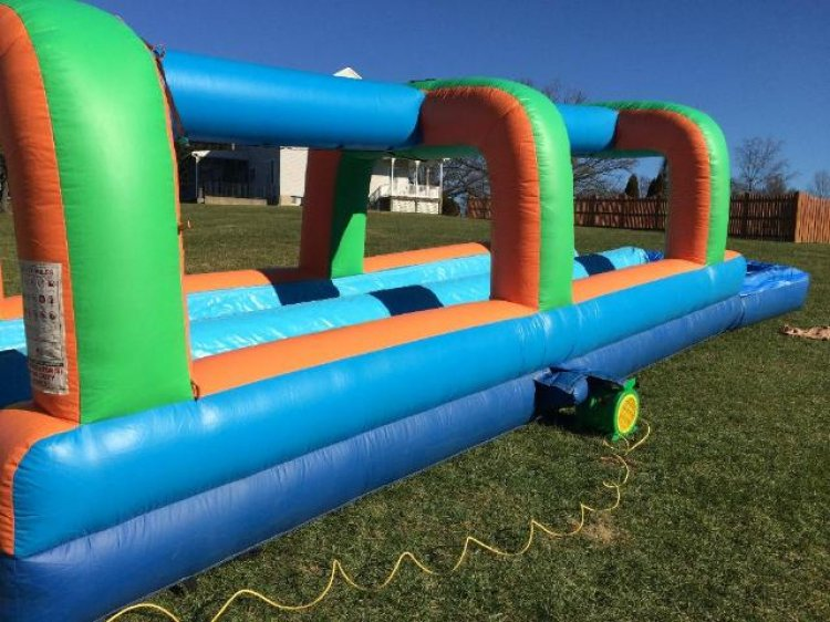 Run N Splash Slip N' Slide w/ Pool