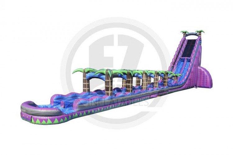 43' Tall Purple Monster Waterslide w/ Slip N Slide