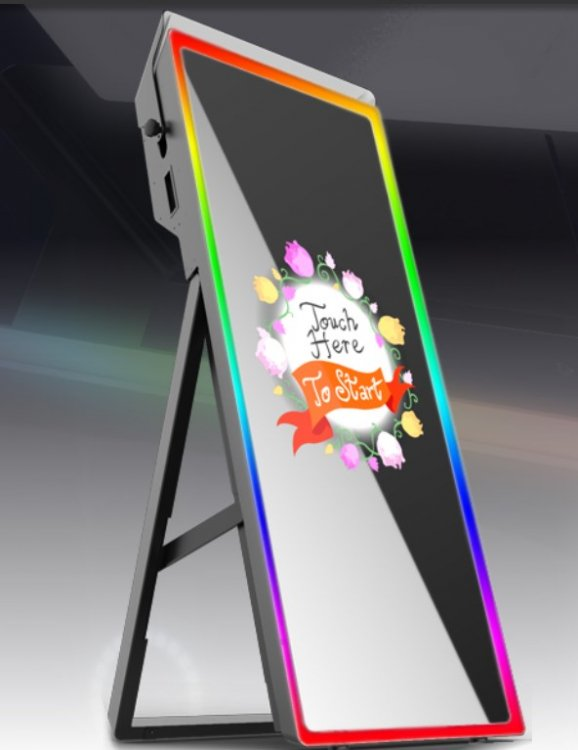 Tower Mirror Photo Booth